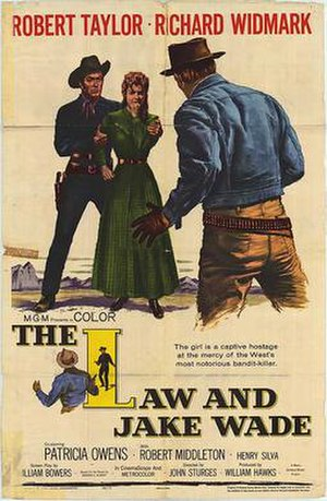 The Law and Jake Wade - Theatrical Film Poster