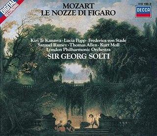 <i>Le nozze di Figaro</i> (Georg Solti recording) 1982 studio album by Georg Solti
