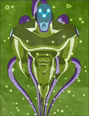 Brainiac (comics) - Brainiac combined with Lex Luthor as seen in Justice League Unlimited.