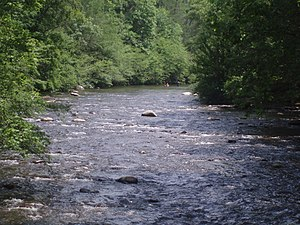 Little River (Tennessee) - Little River at Metcalf Bottoms
