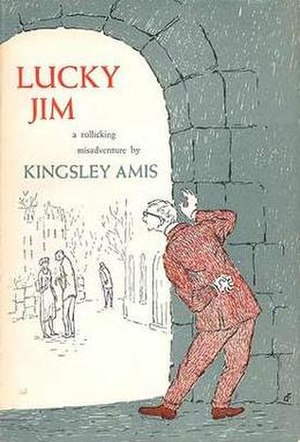 Lucky Jim - First US edition