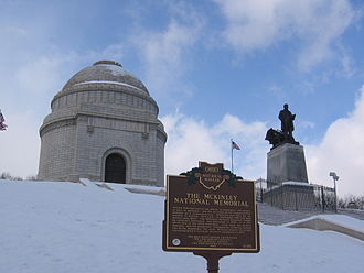 McKinley National Memorial - The McKinley National Memorial in January 2007