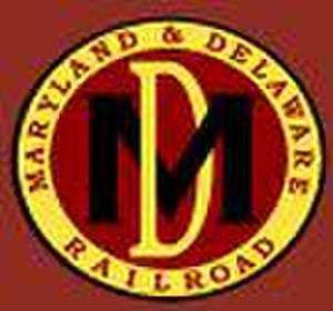 Maryland and Delaware Railroad - Image: MDDE logo