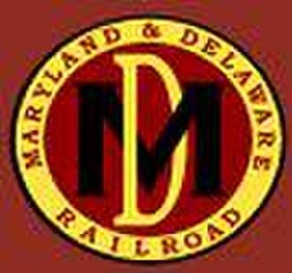 Maryland and Delaware Railroad - Image: MDDE logo