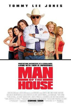 Man of the House (2005 film) - Theatrical release poster