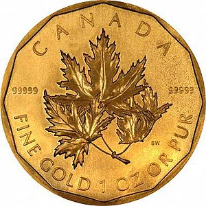 Special Edition 2007 Royal Canadian Maple Leaf...