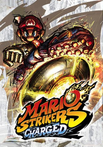 Mario Strikers Charged - Packaging artwork used for most regions