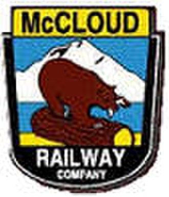 McCloud Railway - Image: Mc Cloud Railway logo