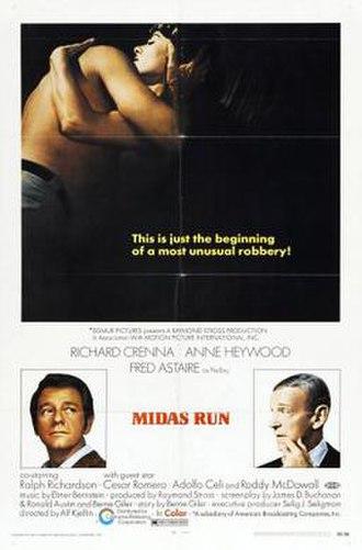 Midas Run - Film poster