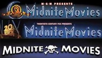 Midnite Movies - Image: Midnite movies logo