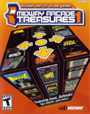 Midway Arcade Treasures - Image: Midway Arcade Treasures alt cover art