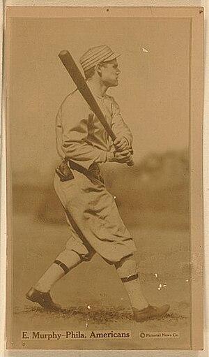 Eddie Murphy (baseball) - A baseball card featuring Murphy
