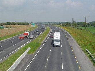N2 road (Ireland) - N2 road Ashbourne bypass