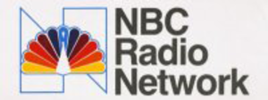 "NBC Red Network - NBC Radio's logo from 1979 until 1986, utilizing the ""Proud N"" NBC-TV logo."