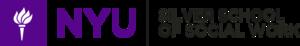 New York University School of Social Work - Image: NYU Silver logo