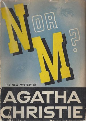 N or M? - True first edition (1941) of the novel, first printed in the US