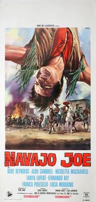 Navajo Joe - Italian film poster