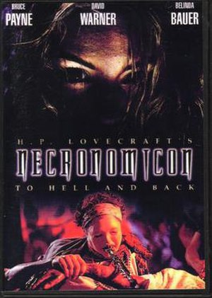 H.P. Lovecraft's: Necronomicon - DVD cover for H.P. Lovercraft's Necronomicon