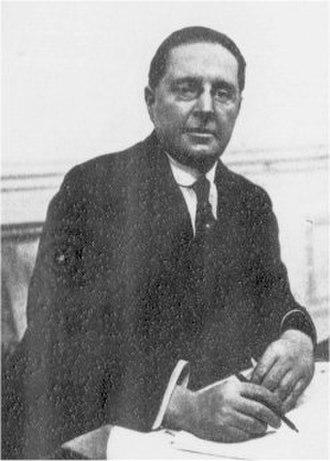Nigel Playfair - Playfair in 1922