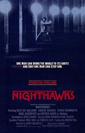 Nighthawks (film) - Theatrical-release poster