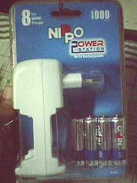 Nippo AA4-Battery (Rechargeable) Pack with recharger.jpg