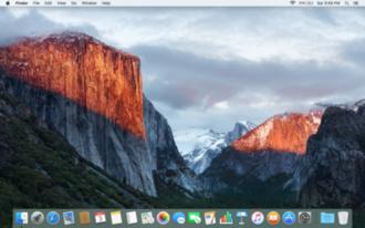 OS X El Capitan - Image: OS X El Capitan screenshot