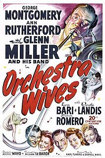 <i>Orchestra Wives</i> 1942 film by Archie Mayo