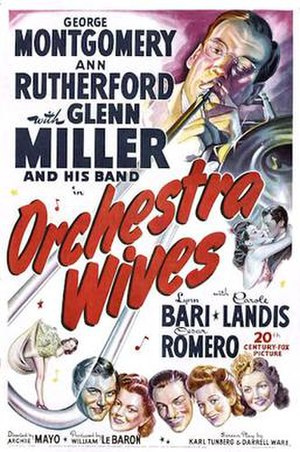 Orchestra Wives - Orchestra Wives 1942 Theatrical poster