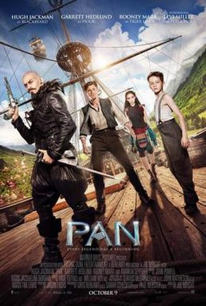Pan (2015 film) - Theatrical release poster