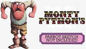 Parrot Sketch Not Included – 20 Years of Monty Python - VHS cover art