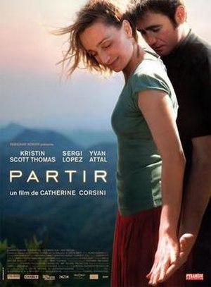 Leaving (2009 film) - Image: Partirkstposter
