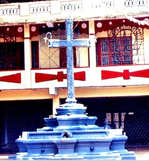 St. George's Church, Chandanapally - Stone Cross (Kalkurish)