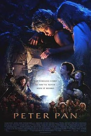Peter Pan (2003 film) - North American theatrical release poster