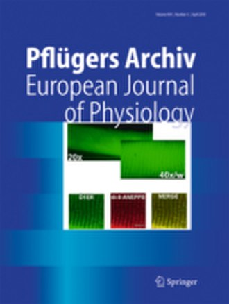 Pflügers Archiv: European Journal of Physiology - Image: Pflugers Arch (2010)