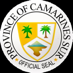 Camarines Sur - Image: Ph seal camarines sur