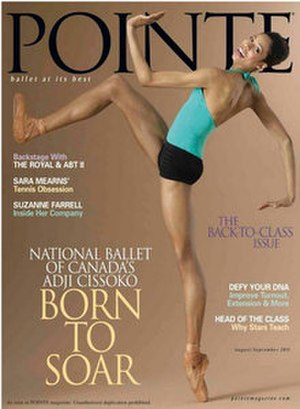 Pointe (magazine) - August/September 2011 cover of Pointe