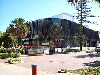Port Macquarie-Hastings Council dismissal, 2008 - The Glasshouse arts and entertainment centre was central to the dismissal of Port Macquarie-Hastings Council