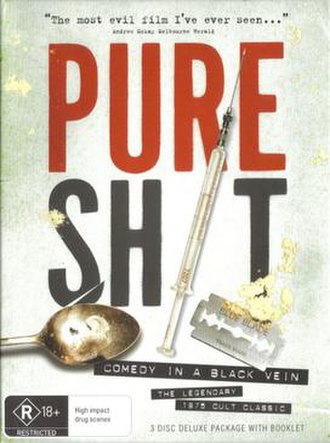 Pure Shit - DVD release cover from 2010
