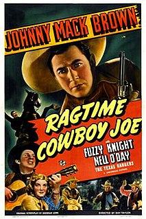<i>Ragtime Cowboy Joe</i> (film) 1940 film