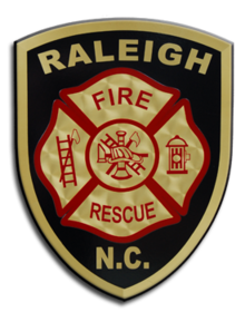 Raleigh Fire Department Logo, Sep 2012.png