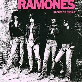 Rocket to Russia - Image: Ramones Rocket to Russia cover