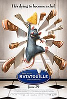 Picture of a movie: Ratatouille