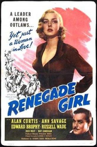 Renegade Girl - Image: Renegade Girl Film Poster