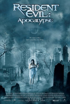 Resident Evil: Apocalypse - Theatrical release poster
