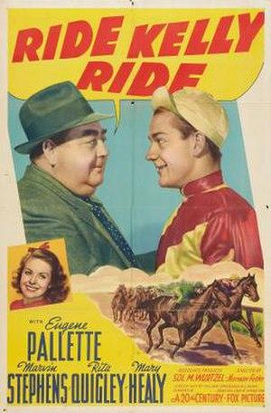 Ride, Kelly, Ride - Theatrical release poster
