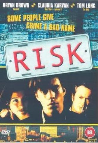 Risk (2001 film) - Theatrical film poster
