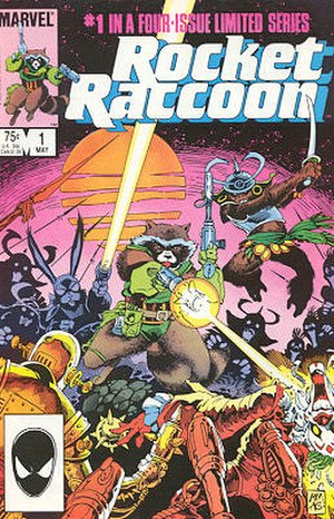 Rocket Raccoon (limited series) - Image: Rocket raccoon 01