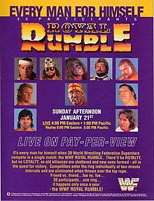 Image result for wwe royal rumble 1990