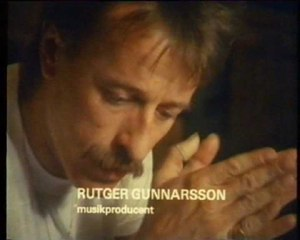 Rutger Gunnarsson - Image: Rutger Gunnarsson at Polar Music Studio in 1983