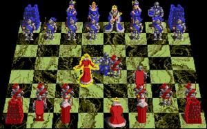Battle Chess - Atari ST gameplay screenshot